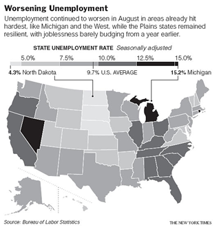 August-Joblessness-Hit-10-percent-in14-states