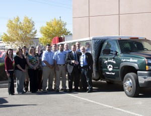 Summit Donates truck to Joy Junction to feed homeless