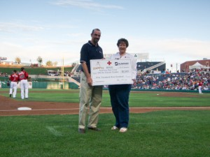 American Red Cross Receives Donation from Summit Electric Supply