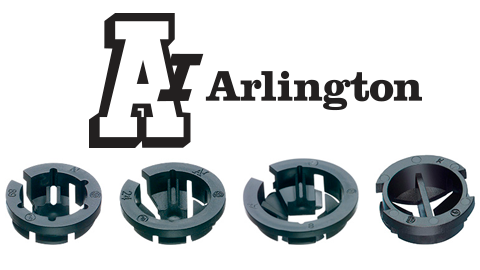 Arlington-Black-Button-NM-Connector