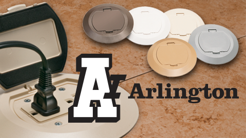 Arlington's New Plastic Cover Kits for Non-Metallic Concrete Box