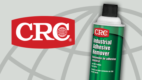 New Industrial Adhesive Remover from CRC