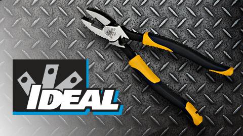IDEAL Introduces New Made In The USA Professional Electrician Pliers