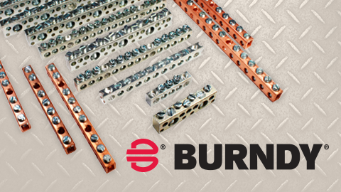 BURNDY® Announces the Introduction of Aluminum and Copper Neutral Bars