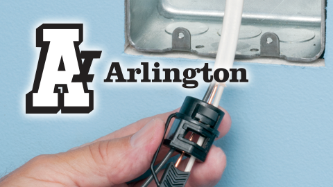 Arlington's New Non-Metallic Push-In Connector