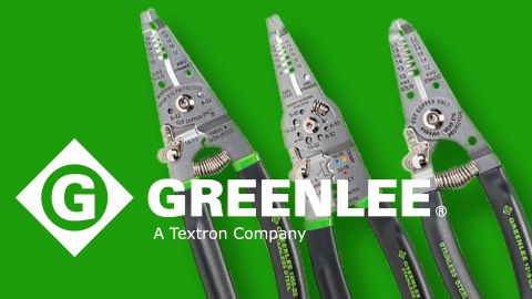 Greenlee's New Pro Stainless Steel Wire Stripping Tools