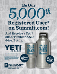 Be Summit's 5,000th Registered User on Summit.com!