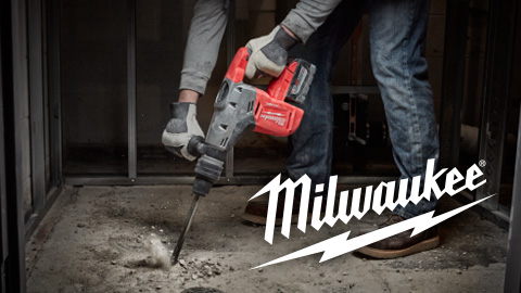 Milwaukee® Introduces Industry's First Cordless SDS Max Rotary Hammer