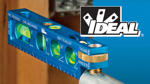 IDEAL® Introduces New Line of Precision Levels