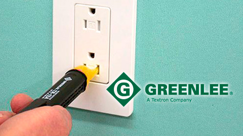 Greenlee's TR-12A Universal Non-Contact Voltage Detector