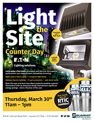 Light the Site with Eaton!
