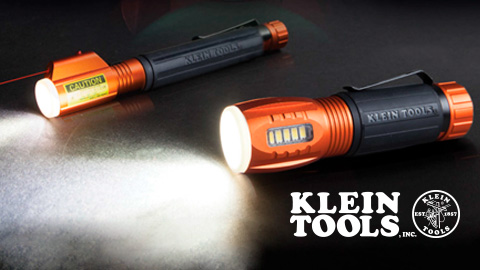 The New Klein Tools® Flashlight with Worklight