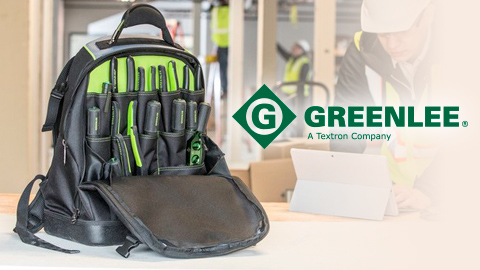 New Professional Tool & Tech Backpack from Greenlee®