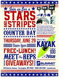 Stars and Stripes Event with Eaton!