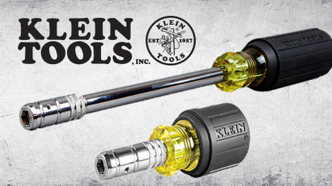 Klein Tools 2-in-1 Hex Head Slide Driver™