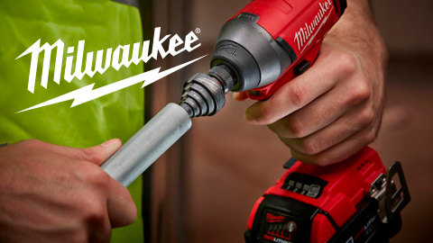 SHOCKWAVE™ Conduit Reaming Bit Holder from Milwaukee®