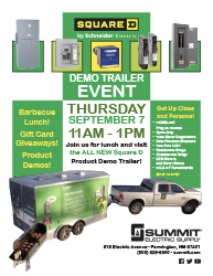 The Square D Demo Trailer is Coming to Farmington!
