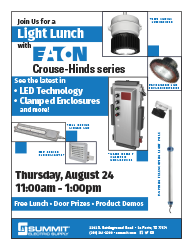 "Join Us for a ""Light"" Lunch with Eaton Crouse-Hinds"